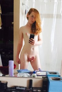 Cute Ginger Trap Selfie