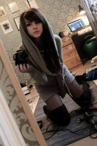 Cute Sissy Trap Selfie