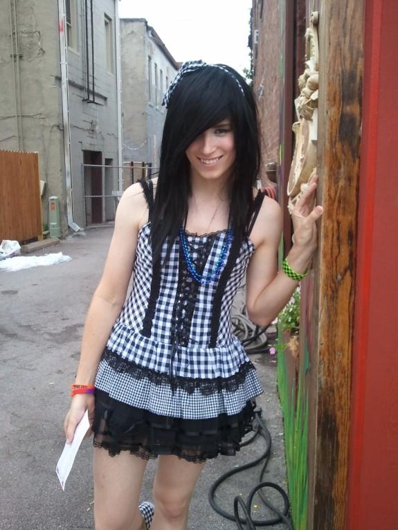Cute Teen Trap Cross-dresser