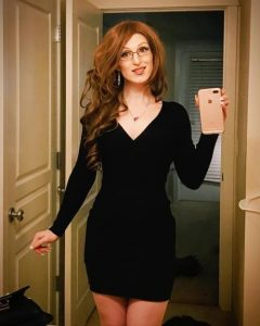 Gorgeous Crossdresser Selfie