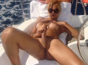 Hot Shemale Stroking