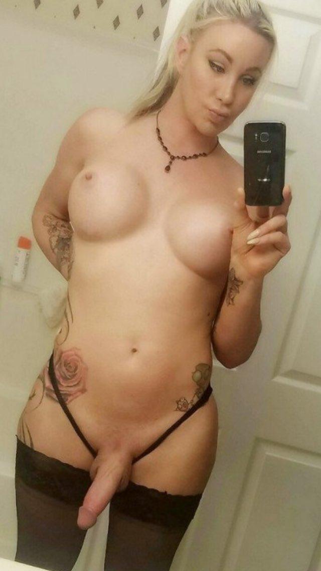Hot Tgirl Selfie