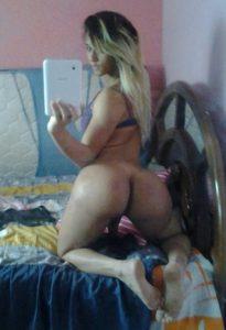 Big Booty Tgirl Selfie