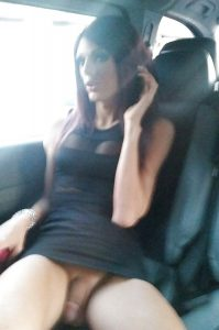 Tgirl Upskirt