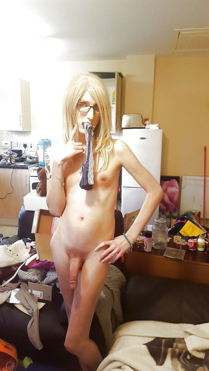 Skinny Tgirl With A Thick Cock